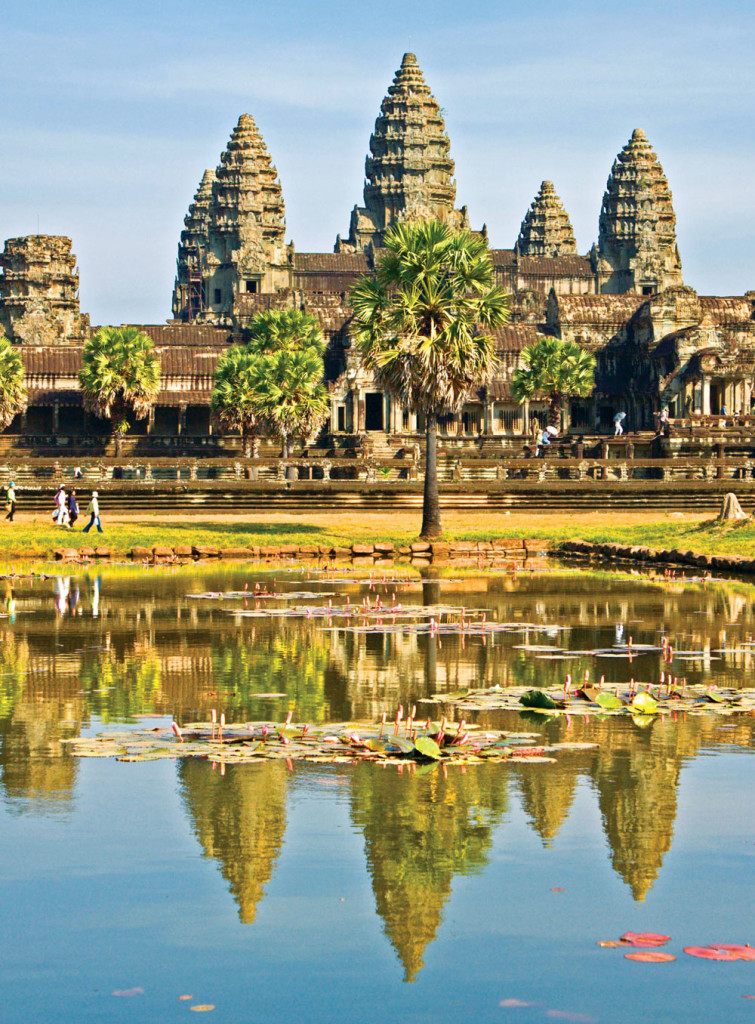 Sustainable Design Is Local Design: Angkor Wat is one of the earliest and most impressive examples of sustainable architecture. During Siem Reap's heyday, the two reservoirs regulated water, so that the temple could be used in the dry season. The pools also helped to distribute cool air throughout the temple.
