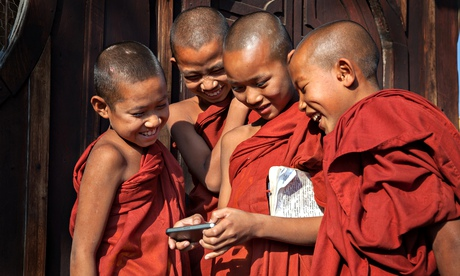 Social media and increasingly accessible smartphones help groups mobilise around the world. Photograph: Prasit Chansareekorn/Flickr Vision