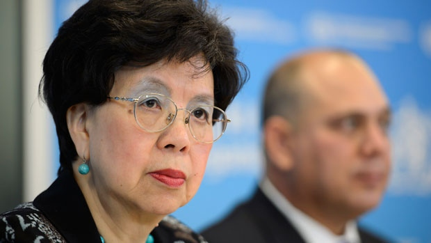 Ebola surging beyond control, WHO's Margaret Chan warns.