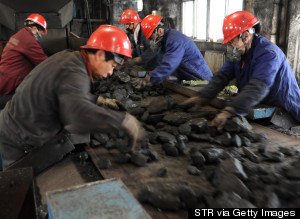 The first half of 2014 saw China's first decline in total coal consumption in over a decade.
