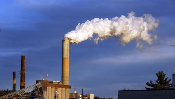coal-fired plant is Merrimack Station in Bow, N.H.  (Jim Cole / Associated Press)