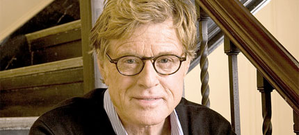 Actor, filmmaker and environmental advocate Robert Redford. (photo: Contour/Getty Images)  go to original article