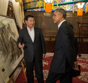 Image: President Obama meets with President Xi Jinping. Photo Credit: Pete Souza/White House